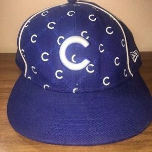 Chicago Cubs Hat Fitted Size 7